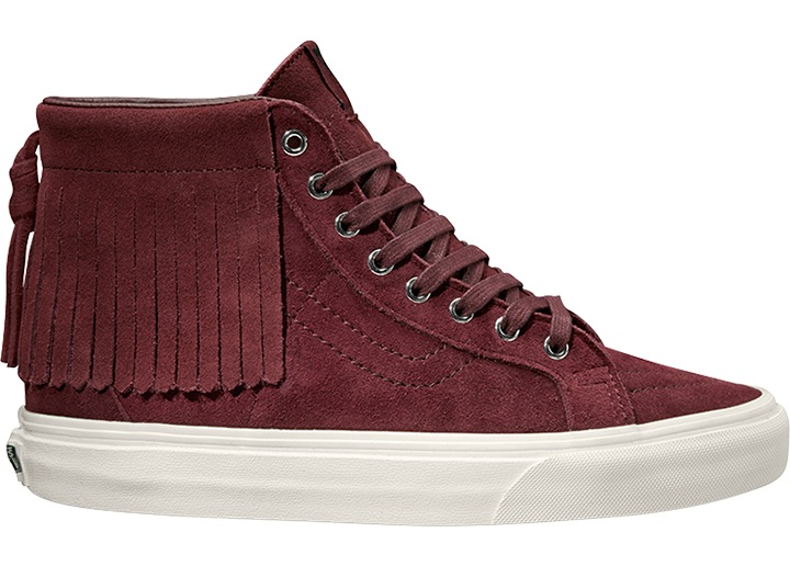 32e4984dc4 Vans Ankle Shoe Skate Shoes Trainers Purple Sk8-hi Moc Suede